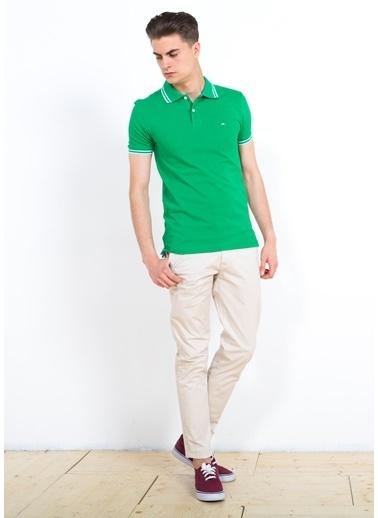 Cazador Polo Yaka Tişört Yeşil
